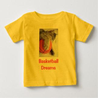 Basketball dreams, baby shirt