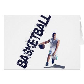 Basketball Dribble Card