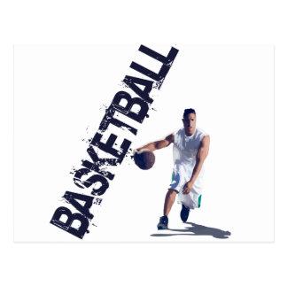 Basketball Dribble Postcard
