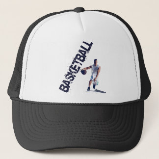 Basketball Dribble Trucker Hat