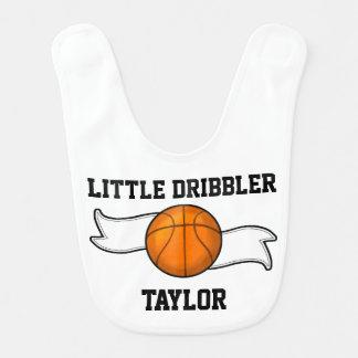 Basketball Dribbler Baby Bib