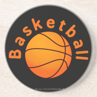 """Basketball!!"" Drink Coaster"