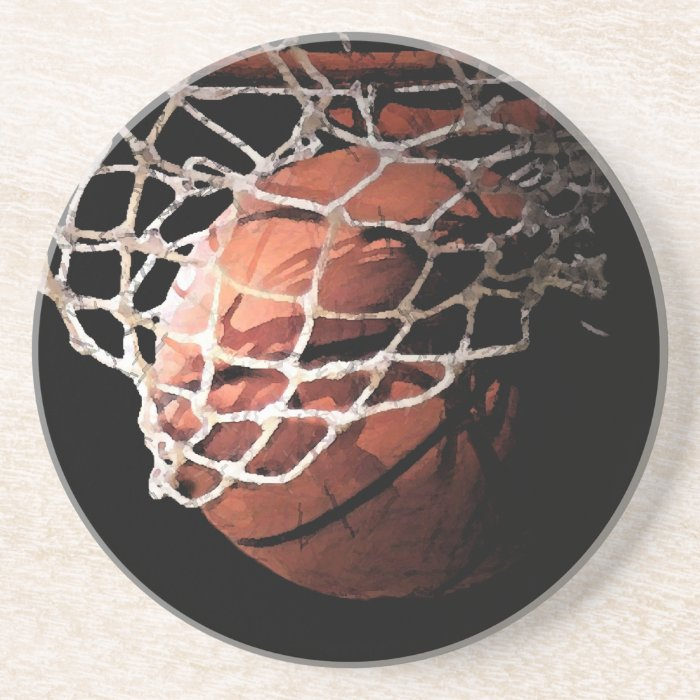 Basketball Drink Coaster