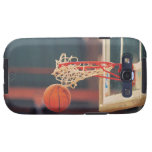 Basketball dropping through hoop samsung galaxy s3 case