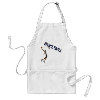 Basketball Dunk Adult Apron