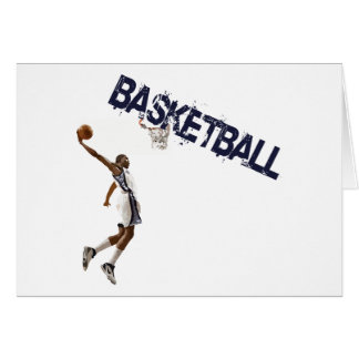 Basketball Dunk Card