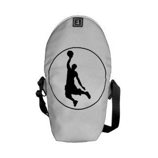 Basketball Dunk Circle Messenger Bags
