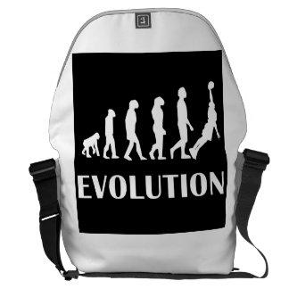 Basketball Dunk Evolution Messenger Bags