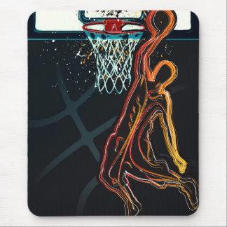 Basketball Dunk Jump Shot Modern Urban Cool Mouse Pad
