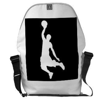 Basketball Dunk Messenger Bags