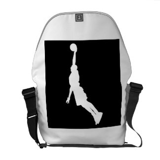 Basketball Dunk Courier Bags