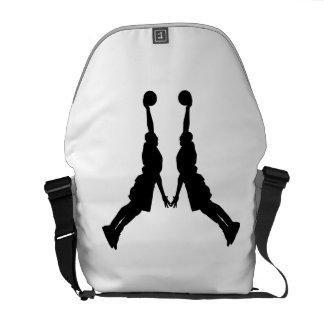 Basketball Dunk Mirror Image Messenger Bag
