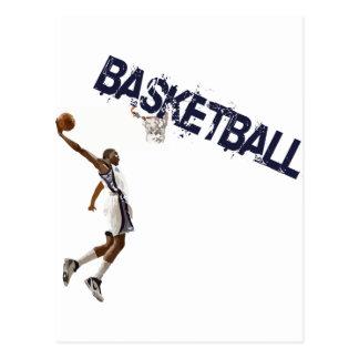 Basketball Dunk Postcard