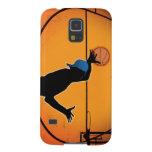 Basketball Dunk Silhouette Carcasa De Galaxy S5