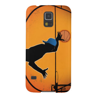 Basketball Dunk Silhouette Funda Para Galaxy S5