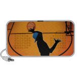 Basketball Dunk Silhouette Portátil Altavoz