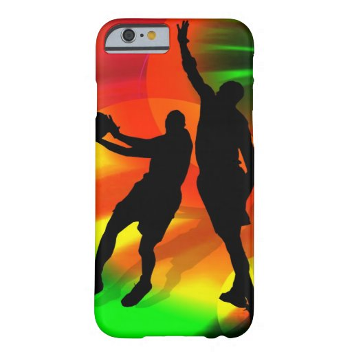 Basketball Duo Bright Court Lights iPhone 6 Case