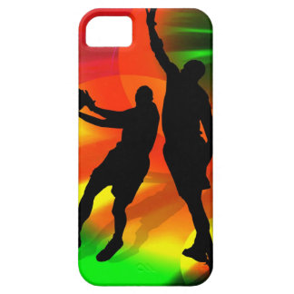 Basketball Duo Bright Court Lights iPhone SE/5/5s Case