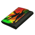 Basketball Duo Bright Court Lights Wallets
