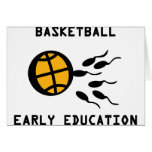 basketball early education cards