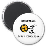 basketball early education refrigerator magnet