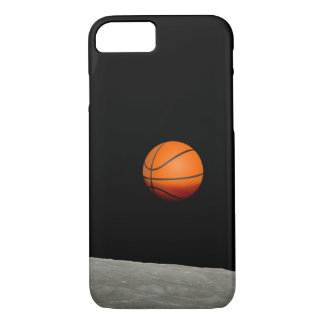 basketball earth from moon space universe iPhone 8/7 case