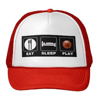 Basketball Eat Sleep Play Trucker Hat