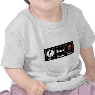 Basketball Eat Sleep Play Tee Shirts