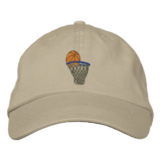 Basketball Embroidered Hat