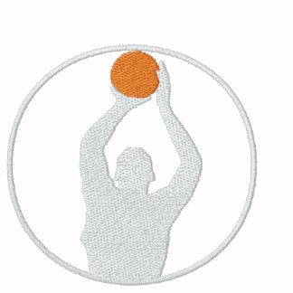 Basketball Embroidered Long Sleeve T-Shirt