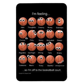 Basketball Emotions Magnet Vinyl Magnets