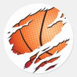 basketball etiqueta