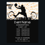 """Basketball Event Promotion Flyer<br><div class=""""desc"""">Flyer for Basketball events promotion.</div>"""