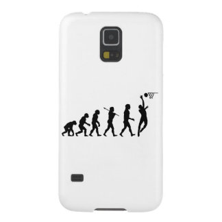 Basketball Evolution Fun Sports Art Galaxy S5 Covers