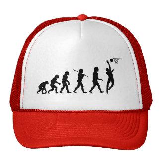 Basketball Evolution Fun Sports Art Hat