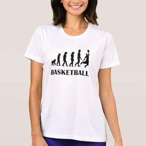 Basketball Evolution Tees