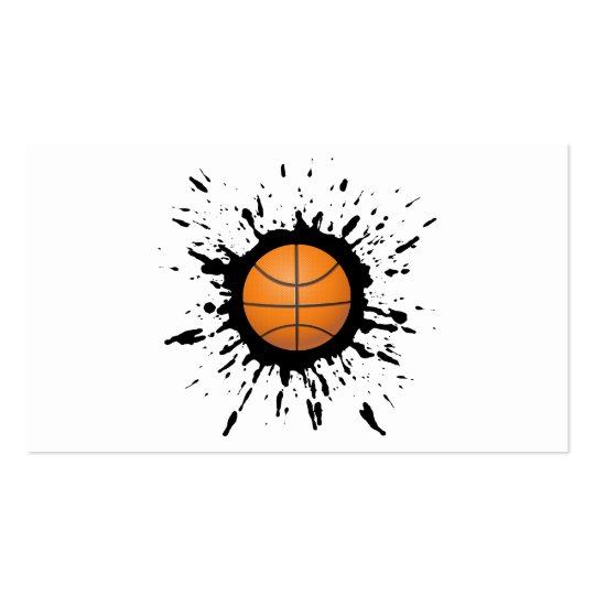 Basketball Explosion Business Card