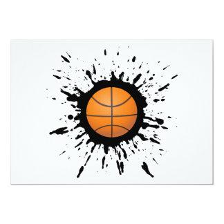 Basketball Explosion Card
