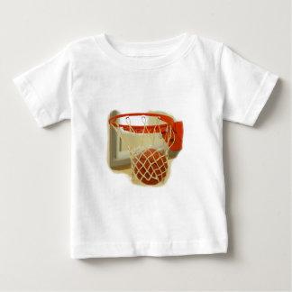 Basketball falling through hoop t shirt