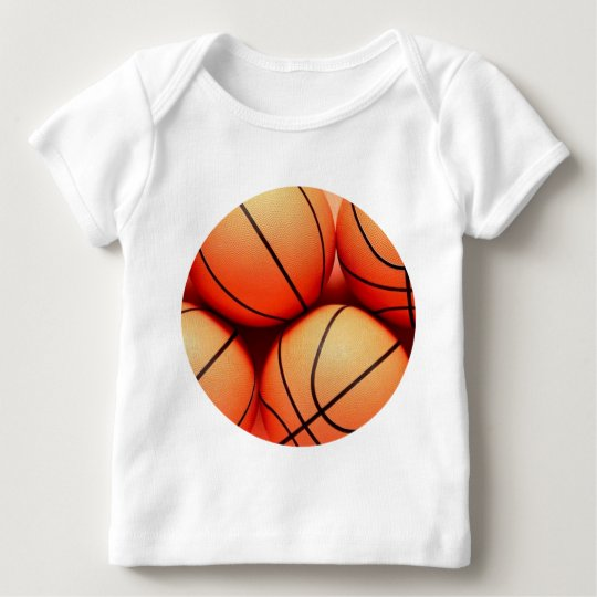 Basketball Fan Baby T-Shirt