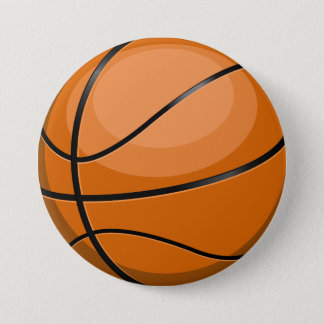 Basketball Fan Button