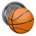 Basketball Fan Button