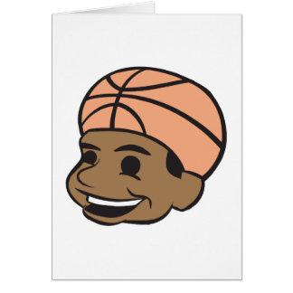 Basketball Fan Greeting Card
