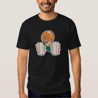 basketball fan freak tee shirt