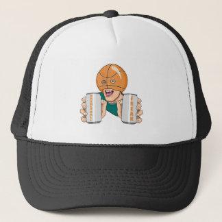 basketball fan freak trucker hat