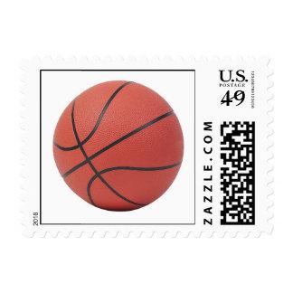 Basketball Fan Gifts Basketball Theme Gift B-Ball Postage Stamps