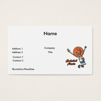 basketball fanatic business card