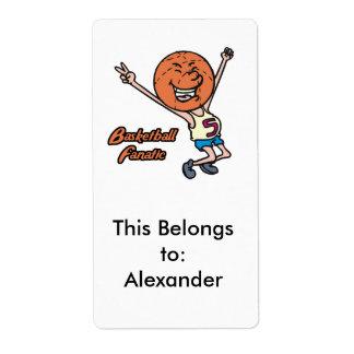 basketball fanatic label
