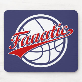 Basketball Fanatic Mouse Pad