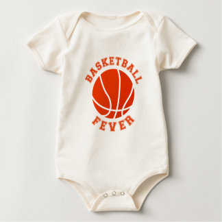 Basketball Fever Baby Bodysuit